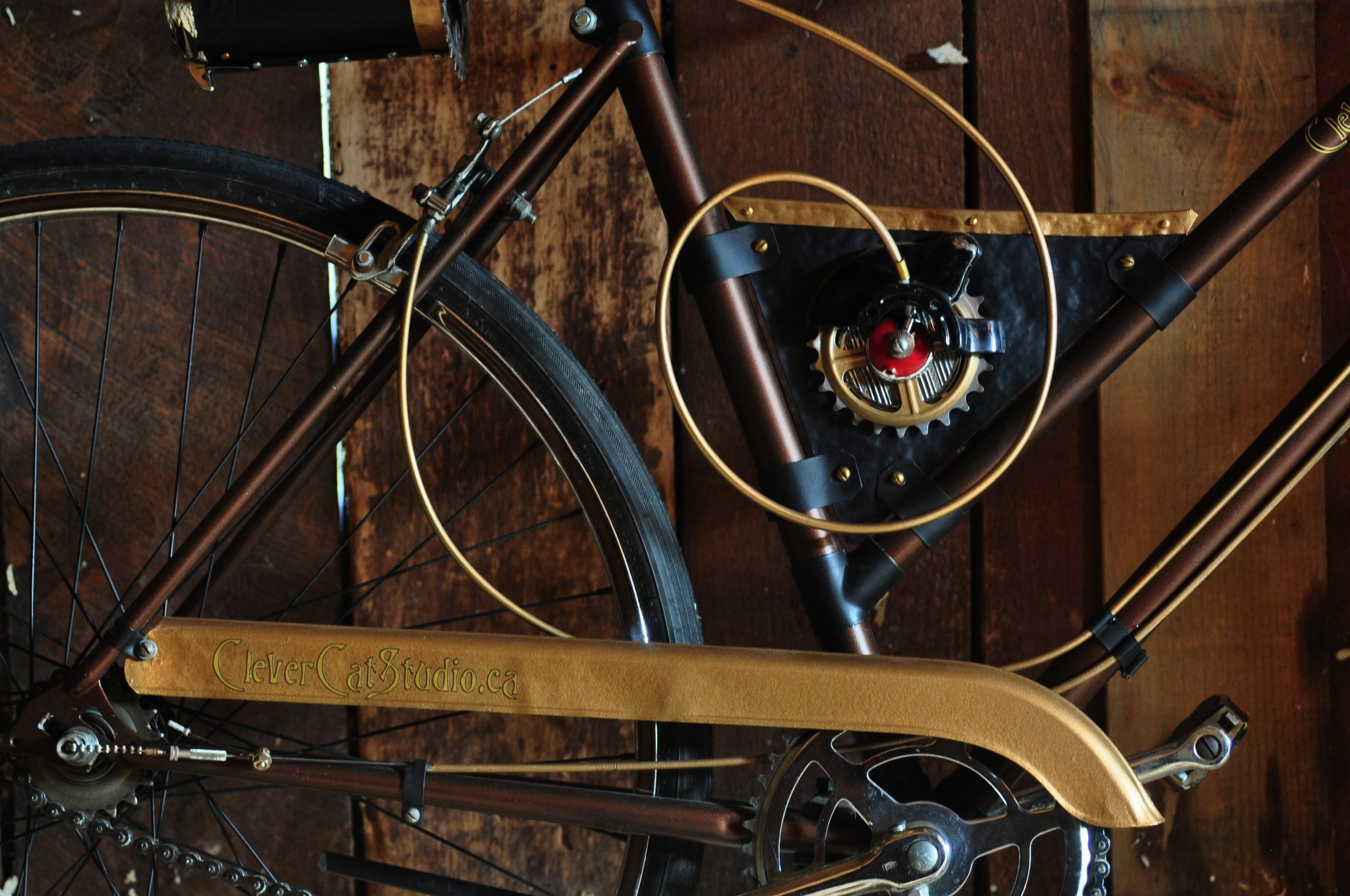 Steampunked Bicycle #1 (A)